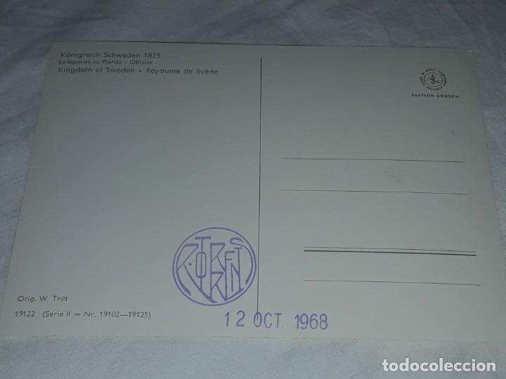 Postales: Bello lote de 20 antiguas postales Uniformes históricos año 1969 Edition Korschk - Foto 20 - 182545738