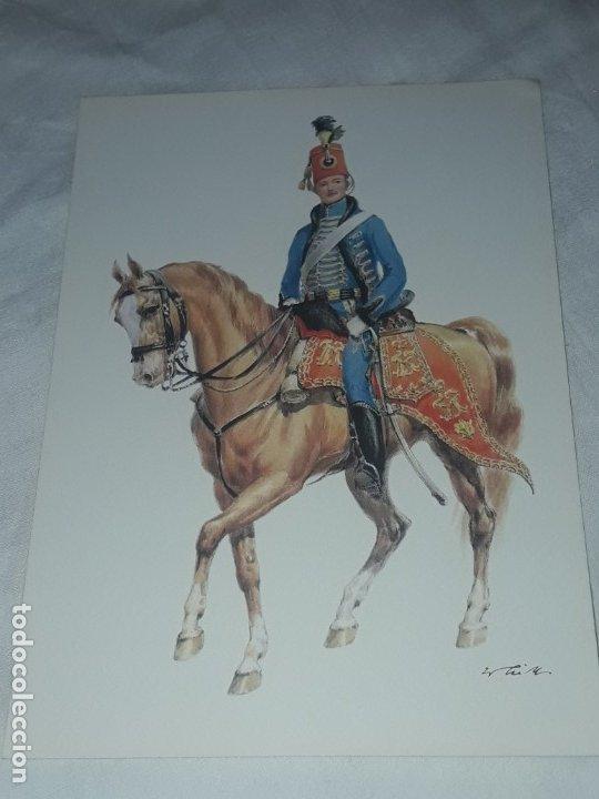 Postales: Bello lote de 20 antiguas postales Uniformes históricos año 1969 Edition Korschk - Foto 21 - 182545738
