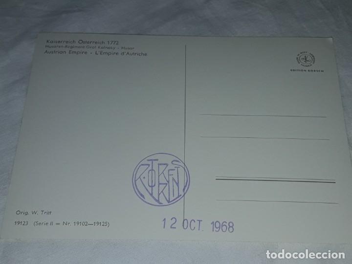 Postales: Bello lote de 20 antiguas postales Uniformes históricos año 1969 Edition Korschk - Foto 22 - 182545738
