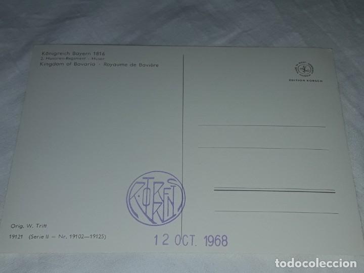 Postales: Bello lote de 20 antiguas postales Uniformes históricos año 1969 Edition Korschk - Foto 24 - 182545738