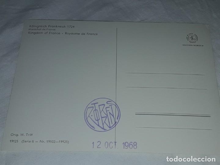 Postales: Bello lote de 20 antiguas postales Uniformes históricos año 1969 Edition Korschk - Foto 26 - 182545738