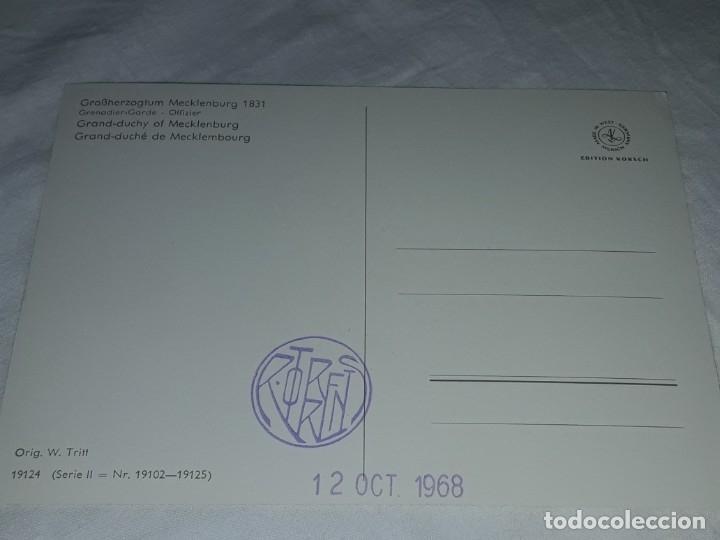 Postales: Bello lote de 20 antiguas postales Uniformes históricos año 1969 Edition Korschk - Foto 28 - 182545738