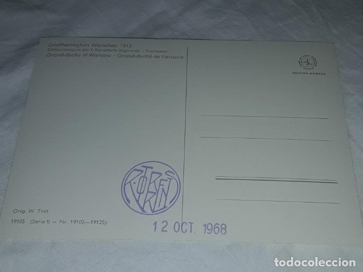 Postales: Bello lote de 20 antiguas postales Uniformes históricos año 1969 Edition Korschk - Foto 30 - 182545738
