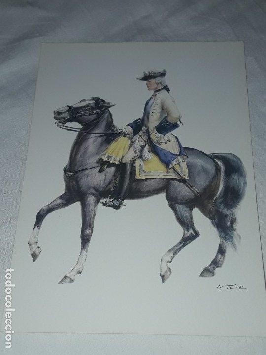 Postales: Bello lote de 20 antiguas postales Uniformes históricos año 1969 Edition Korschk - Foto 31 - 182545738