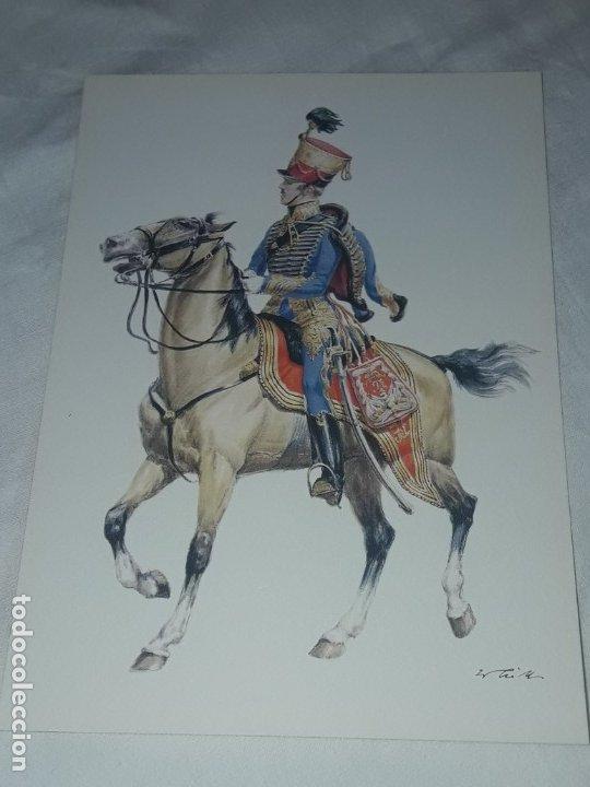 Postales: Bello lote de 20 antiguas postales Uniformes históricos año 1969 Edition Korschk - Foto 33 - 182545738