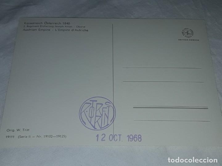 Postales: Bello lote de 20 antiguas postales Uniformes históricos año 1969 Edition Korschk - Foto 34 - 182545738