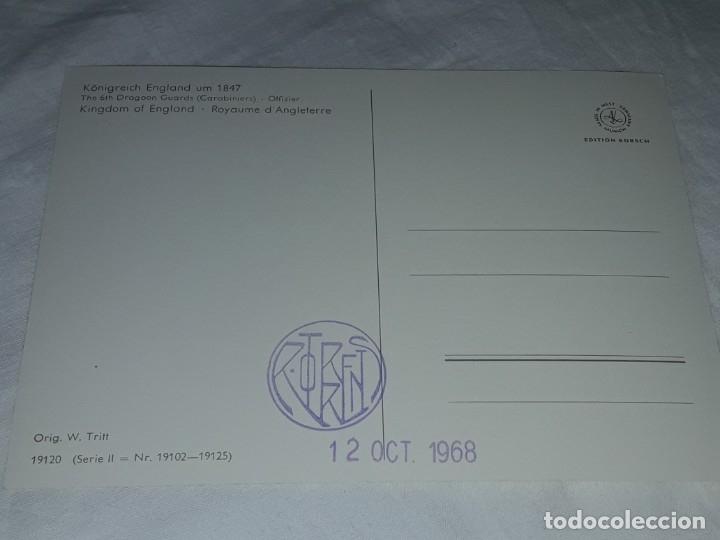 Postales: Bello lote de 20 antiguas postales Uniformes históricos año 1969 Edition Korschk - Foto 36 - 182545738