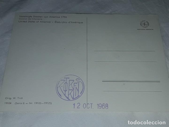 Postales: Bello lote de 20 antiguas postales Uniformes históricos año 1969 Edition Korschk - Foto 38 - 182545738