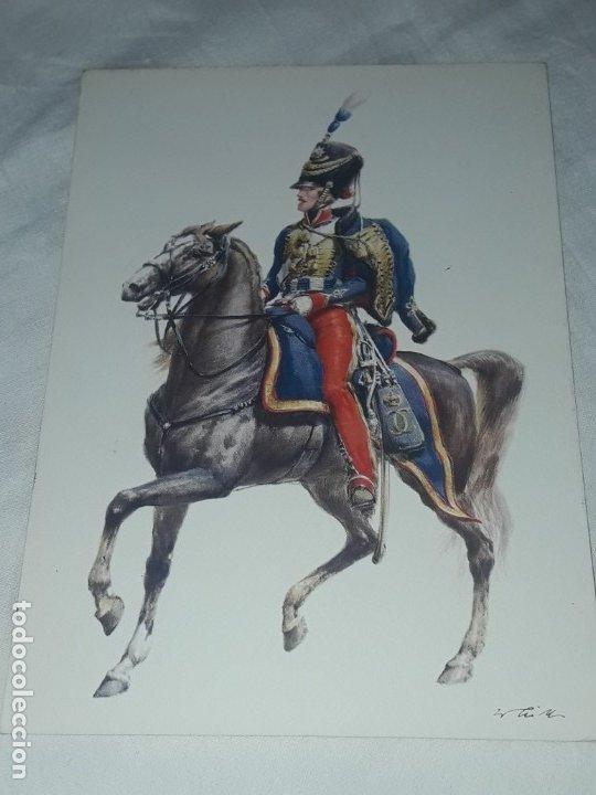 Postales: Bello lote de 20 antiguas postales Uniformes históricos año 1969 Edition Korschk - Foto 39 - 182545738