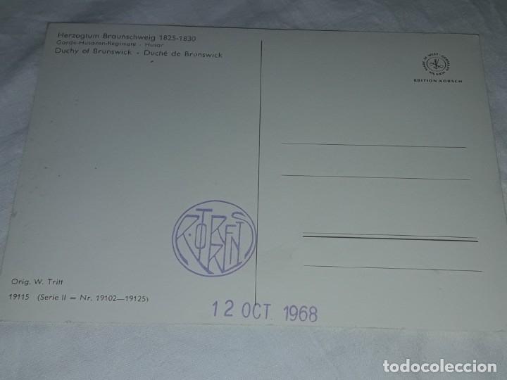 Postales: Bello lote de 20 antiguas postales Uniformes históricos año 1969 Edition Korschk - Foto 40 - 182545738