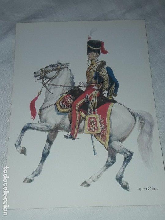 Postales: Bello lote de 20 antiguas postales Uniformes históricos año 1969 Edition Korschk - Foto 41 - 182545738