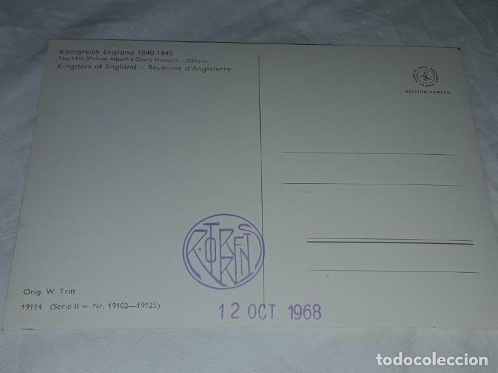 Postales: Bello lote de 20 antiguas postales Uniformes históricos año 1969 Edition Korschk - Foto 42 - 182545738