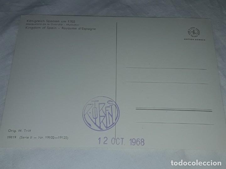 Postales: Bello lote de 20 antiguas postales Uniformes históricos año 1969 Edition Korschk - Foto 44 - 182545738