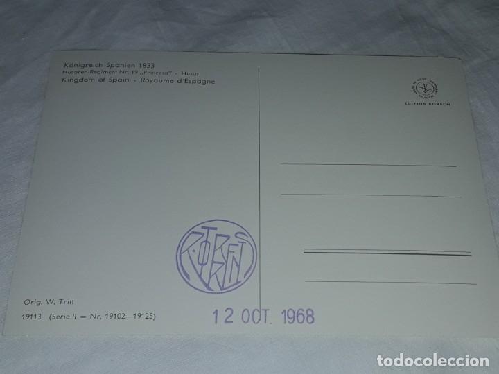 Postales: Bello lote de 20 antiguas postales Uniformes históricos año 1969 Edition Korschk - Foto 46 - 182545738
