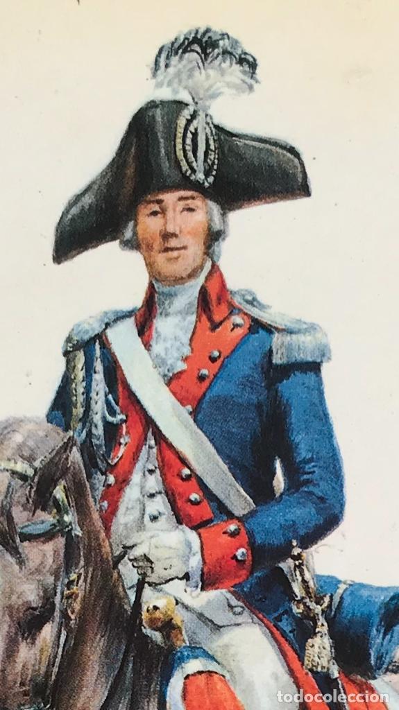 Postales: Militar a caballo dibujo postal cuatro cuadros ejercito caballeria ejercitos uniforme epoca firmados - Foto 6 - 182612713