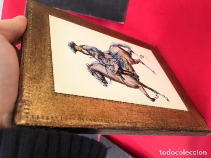 Postales: Militar a caballo dibujo postal cuatro cuadros ejercito caballeria ejercitos uniforme epoca firmados - Foto 19 - 182612713