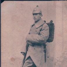 Postales: CPA BELGIQUE MILITAIRE ARMÉE BELGE INFANTERIE NOUVELLE TENUE DE CAMPAGNE. Lote 182666361
