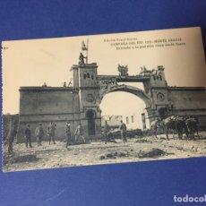 Postales: POSTAL FOTOTIPIA HAUSER Y MENET CAMPAÑA DEL RIF 1921 MONTE ARRUIT ENTRADA A LA POSICION. Lote 183327081