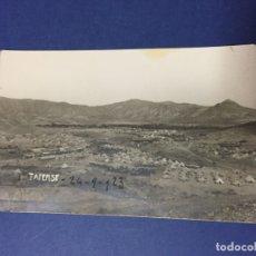Postales: FOTO TARJETA POSTAL CAMPAMENTO TAFERSIT MELILLA MARRUECOS FECHADA EN ¿1923? . Lote 183327687