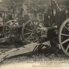 Postais: TBE LA GUERRE 1914-1915 ++ GUERRE BUTIN DE GUERRE CANON DE 77 ALLEMAND QUI EST RIEN COMPARE. Lote 183728612