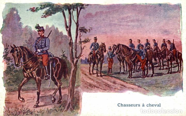 CHASSEURS A CHEVAL (Postales - Postales Temáticas - Militares)