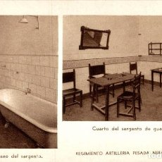 Postales: REGIMIENTO ARTILLERIA PESADA CORDOBA MILITAIRE. Lote 183734555