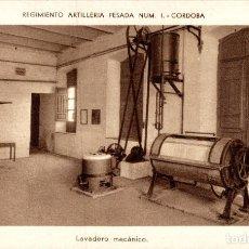 Postales: REGIMIENTO ARTILLERIA PESADA CORDOBA MILITAIRE LAVADERO MECANICO. Lote 183734690