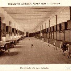 Postales: CORDOBA - REGIMIENTO ARTILLERIA PESADA NÚM.1. Lote 183735077