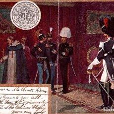 Postales: CRACK IN THE MIDDLE OF THE CARD CARTOLINA POSTALE ITALIANA - MILITAR 2SCAN ITALIA ITALIANA. Lote 183736318