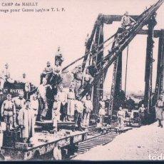 Postales: POSTAL FRANCIA - CAMP DE MAILLY - APPAREILS DE LEVAGE POUR CANON 340/210 T L P - NIEPS. Lote 183892523