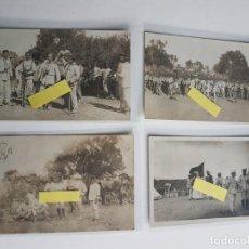 Postales: LOTE DE 4 POSTALES DE NADOR. CAMPAÑA DE MELILLA, RIF. UNA ESCRITA Y DIRIGIDA AL DUQUE DE MEDINACELI.. Lote 184122508