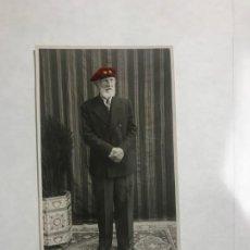 Postales: ANTIGUA POSTAL DE UN TENIENTE CORONEL ( ATRÁS CUÑO DE MELFOL - VICH ) // ESCRITA. Lote 184561740