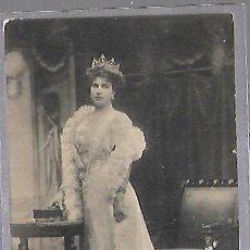 Postales: TARJETA POSTAL. SS MM VICTORIA EUGENIA. REINA DE ESPAÑA. 121. G.G.GALARZA. Lote 184703226