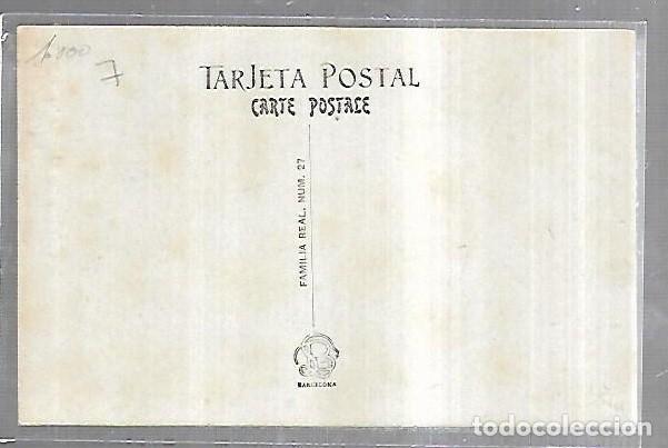 Postales: POSTAL. S.M. ALFONSO XIII Y S.A.R. EL PRINCIPE DE ASTURAS. LB. FAMILIA REAL Nº 27 - Foto 2 - 185681751