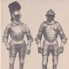Postales: ARNESES DE CARLOS V (1538) (1539) - REAL ARMERÍA MADRID - FOTOTIPIA HAUSER Y MENET - S/C. Lote 187384843