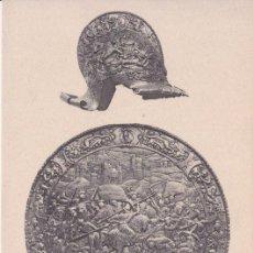 Postales: RODELA DE CARLOS V (1535?) - REAL ARMERÍA MADRID - FOTOTIPIA HAUSER Y MENET - S/C. Lote 187384883