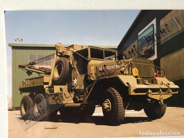 POSTAL CAMION MILITAR HEAVY WRECKER, 6 TON. 6X6 , M1A1 (Postales - Postales Temáticas - Militares)