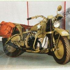 Postales: POSTAL MOTO MILITAR HARLEY DAVIDSON. Lote 189088721