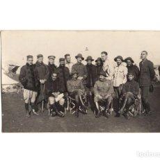 Postales: CAMPAÑA DEL RIF - GRUPO DE OFICIALES. REGIMIENTO DE BURGOS. POSTAL FOTOGRÁFICA.. Lote 191076105