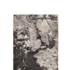 Postales: CAMPAÑA DEL RIF - XAÜEN 1922. NACIMIENTO DEL MANANTIAL. POSTAL FOTOGRÁFICA.. Lote 191076513