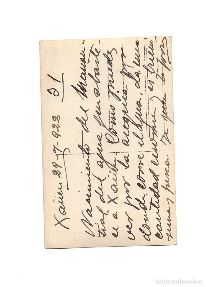 Postales: CAMPAÑA DEL RIF - XAÜEN 1922. NACIMIENTO DEL MANANTIAL. POSTAL FOTOGRÁFICA. - Foto 2 - 191076513