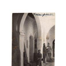 Postales: CAMPAÑA DEL RIF - XAÜEN 1922.CARTERÍA. CORREOS.PUESTO CENTRAL. POSTAL FOTOGRÁFICA.. Lote 191076683