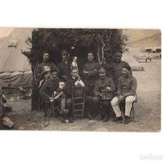 Postales: CAMPAÑA DEL RIF - CAMPAMENTO. POSTAL FOTOGRÁFICA.. Lote 191076842
