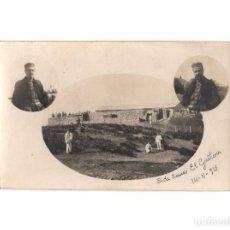 Postales: CAMPAÑA DEL RIF - CAMPAMENTO MILITAR. POSTAL FOTOGRÁFICA.. Lote 191393666