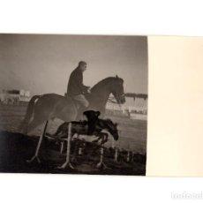 Postales: EQUITACIÓN MILITAR. POSTAL FOTOGRÁFICA.. Lote 191394017