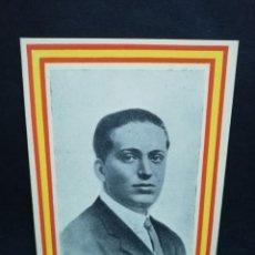 Postales: TARJETA POSTAL. JOSE CALVO SOTELO. COBARDEMENTE ASESINADO EL 13 JULIO DE 1936. EDICIONES ARRIBAS.. Lote 191445477