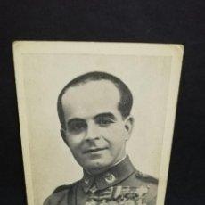 Postales: TARJETA POSTAL. HEROICO GENERAL VARELA. DOS VECES LAUREADO. FOTO LUQUER. . Lote 191445808