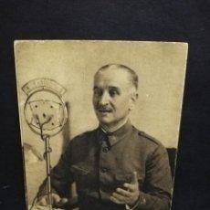 Postales: TARJETA POSTAL. GENERAL QUEIPO DE LLANO. POR JALON ANGEL. . Lote 191445906