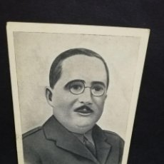 Postales: TARJETA POSTAL. GENERAL ARANDA. GLORIOSO SALVADOR DE OVIEDO. FOTO LUKER.. Lote 191446162