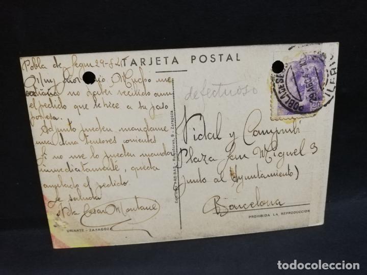 Postales: TARJETA POSTAL. EXCMO. SR. D. FRANCISCO FRANCO, JEFE DEL ESTADO Y GENERALISIMO. EDICIONES ARRIBAS. - Foto 2 - 191446377